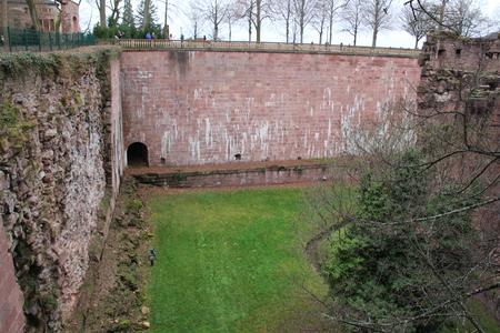 Inside the Heidelberg Castle Redakční