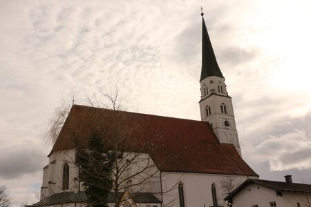 Church in the center of Arnstorf