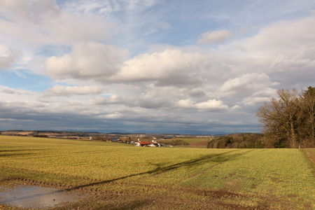 View over Lower Bavaria