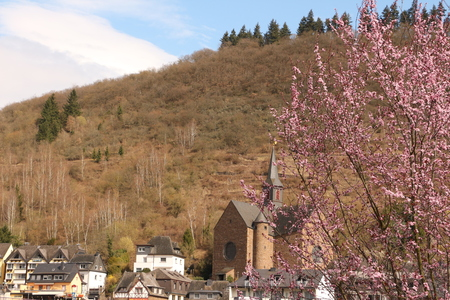 church in the center of Cochem