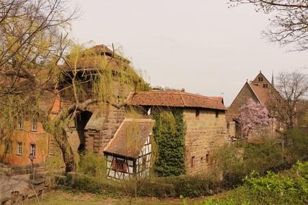 View of the entrance of Maulbronn Abbey Фото со стока