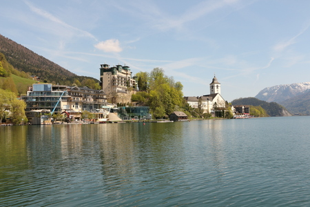 View of St. Wolfgang am Wolfgangsee