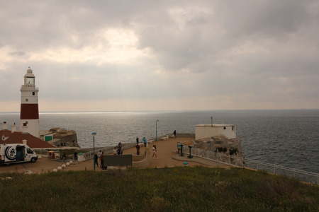 Lighthouse at Europa-Point in Gibraltar