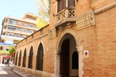 Historic building in the center of Seville