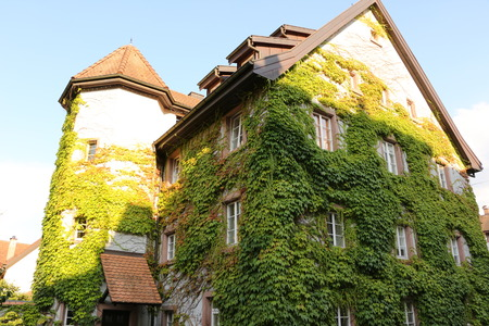 Historic building in the center of Schopfheim in the Black Forest