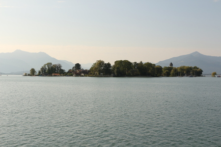 View of the Fraueninsel in the Chiemsee Reklamní fotografie