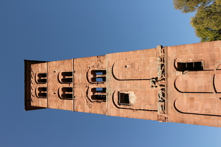 Old church tower in Hirsau monastery in the Black Forest