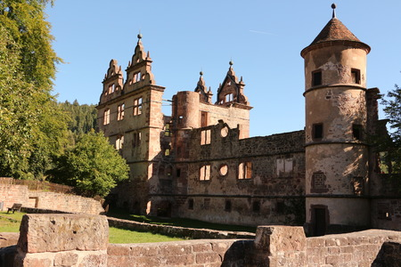 View of the former hunting lodge on the monastery grounds of Hirsau Abbey in the Black Forest Imagens