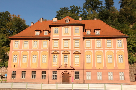 Historic building in the center of Calw in the Black Forest