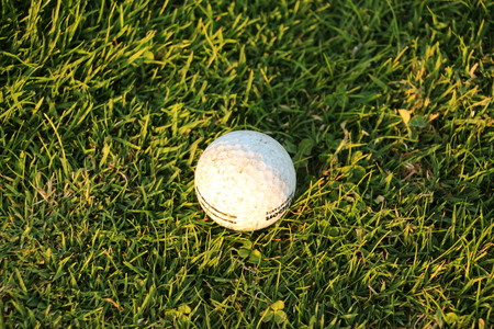 Golf ball on a golf course in Bad G?gging