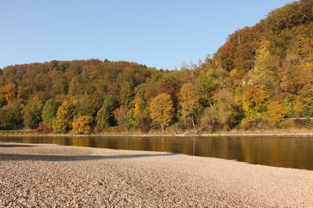 Autumn on the Danube at Weltenburg in Altm?hltal