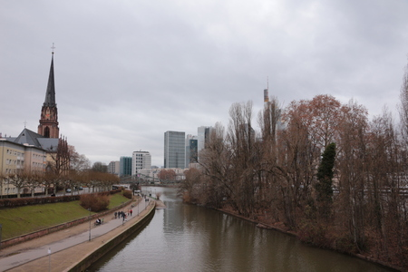 View of the skyline of Frankfurt am Main