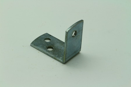 Close up of a mounting bracket