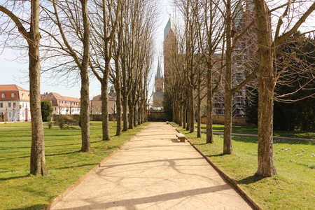 In the castle park of Homburg Castle in the center of Bad Homburg vd H?he in the Taunus Stock fotó