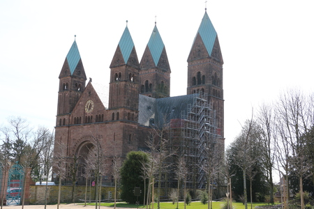 Old church in the center of Bad Homburg in the Taunus