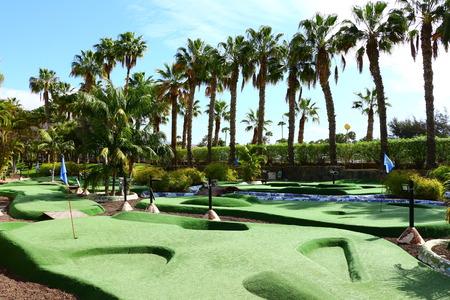 Minigolfplatz in Maspalomas auf Gran Canaria
