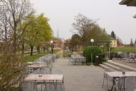Outside catering in the spa park of Bad Rappenau