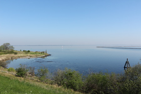 View of the Grevelingenmeer at Brouwershaven in Holland