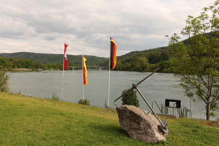 View of the Rhine at Laufenburg