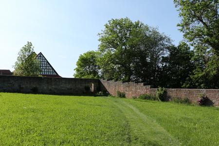 In the KIostergarten of Kloster Kirchberg in the Black Forest