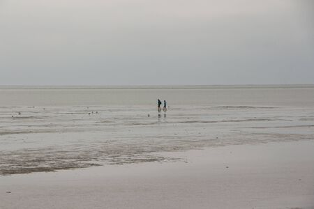 View over the Wadden Sea off the North Sea island of F?hr