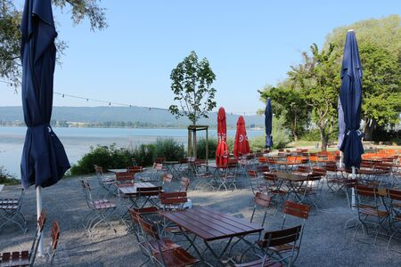 Outside catering in Radolfzell on the shores of Lake Constance