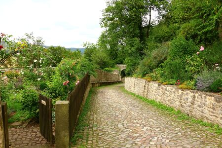 Access to Schloss Spangenberg in Hesse