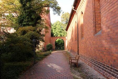 Historic buildings in Lehnin Monastery 版權商用圖片