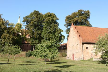 Historic building on the grounds of KLoster Lehnin