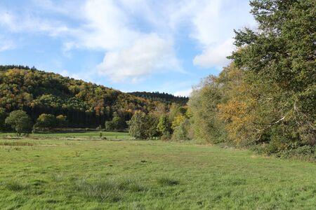 Autumn at Laacher See in the volcanic Eifel