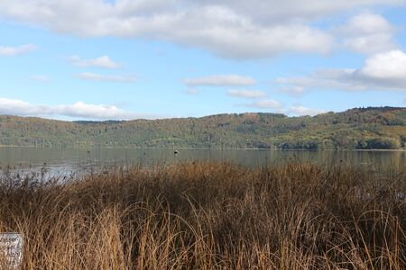 View of the Laacher See in the Vulkaneifel