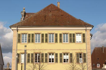 Historical building in the center of Ellwangen