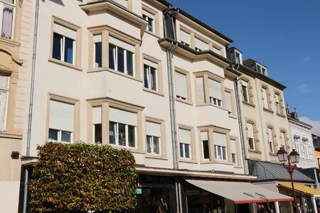 Historical building in the Zenztrum of Ettelbr?ck in Luxembourg