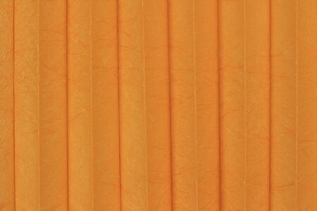Closeup of a colorful pleated cloth Banco de Imagens