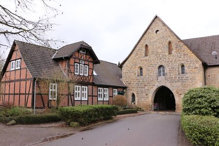 Entrance area of Loccum Abbey in northern Germany