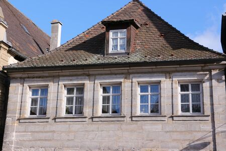 Historic building in the old town of Forchheim in southern Germany