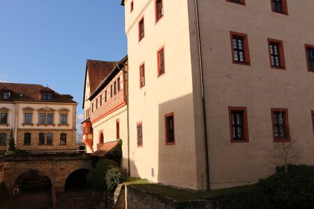 View of Forchheim Castle in the center of Forchheim