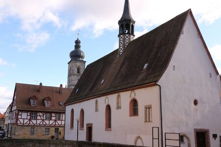 View of the Marienkapelle in the old town of Forchheim