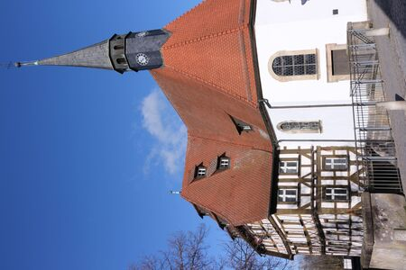 Historic chapel in the center of Forchheim