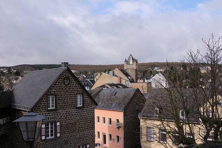 View over Mayen in the Eifel
