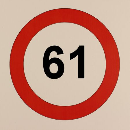 Illustration of the road sign