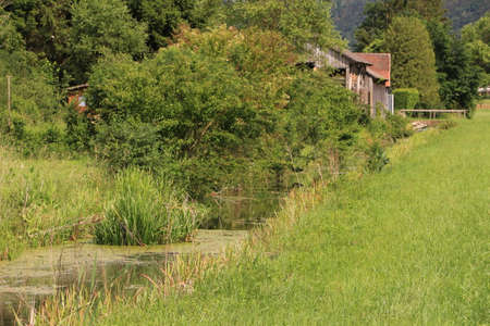 Beautiful natural landscape in the Altmühltal in Bavaria