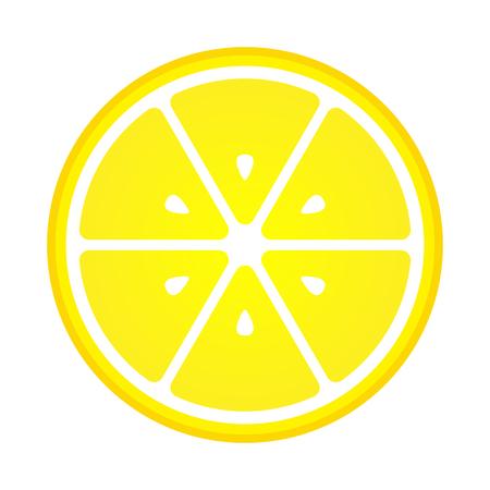 Orange slice vector icon illustration on white background. Fresh sour vector orange icon. Cut of fresh juicy orange. Vegan circle sign illustration vitamin citrus natural design.