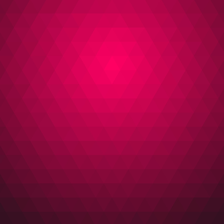 Pink fuchsia abstract geometric vector illustration graphic background. Ilustração