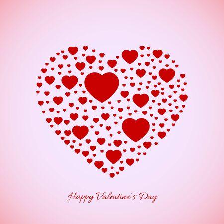 Valentines background Stock Vector - 17336633