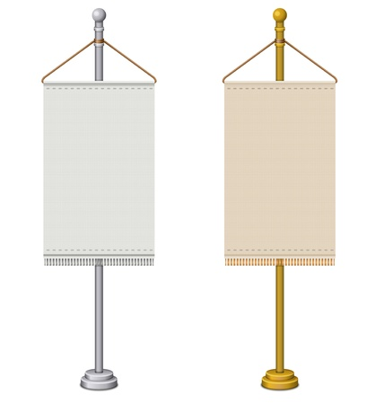 Flag Stand Illustration
