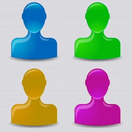 Default avatar profile