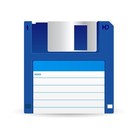 Floppy disc Stock Vector - 20782835