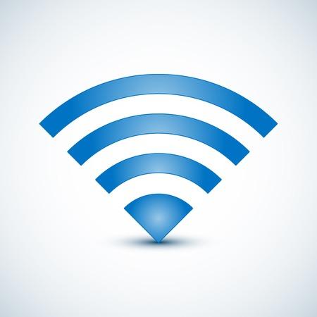 Wireless Nerwork Symbol.