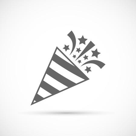Slapstick hoiday icon. Holiday event vector symbol Illustration